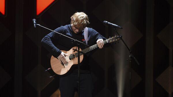 Singer-songwriter Ed Sheeran performs at Z100's iHeartRadio Jingle Ball at Madison Square Garden - Sputnik International