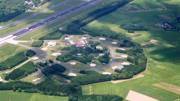 Aerial photograph of Büchel Air Base - Sputnik International