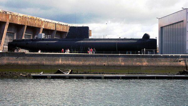 French submarine Minerve (S647) - Sputnik International