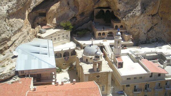 The monastic complex of Saint Thecla - Sputnik International