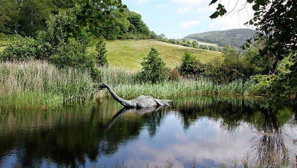 An artist's concept of the Loch Ness monster - Sputnik International