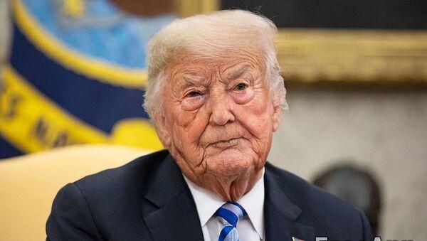 Donald Trump as an older man - Sputnik International