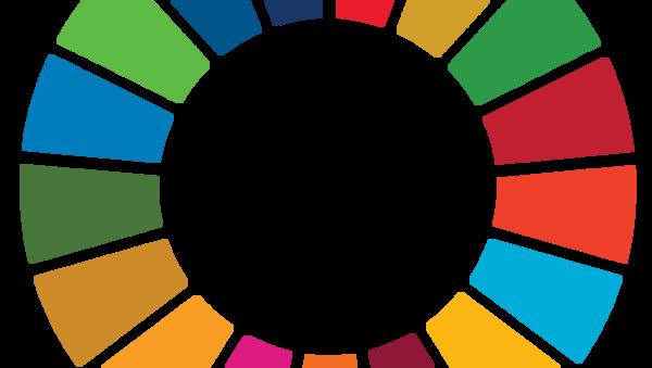 SDG Media Compact Master logo  - Sputnik International