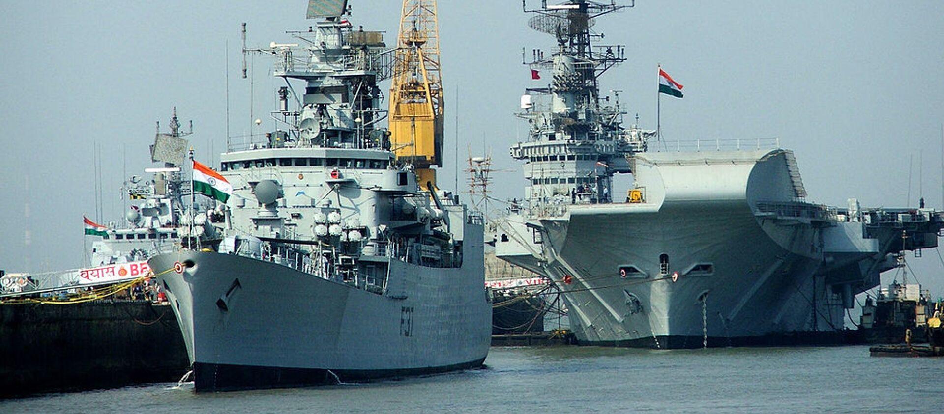 Indian Navy ships - Sputnik International, 1920, 04.02.2020