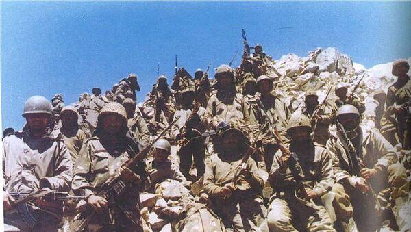 Indian soldiers in Batalik during the Kargil War - Sputnik International