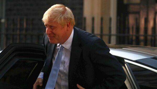 Britain's Prime Minister Boris Johnson arrives at Downing Street, in London, Britain July 24, 2019 - Sputnik International