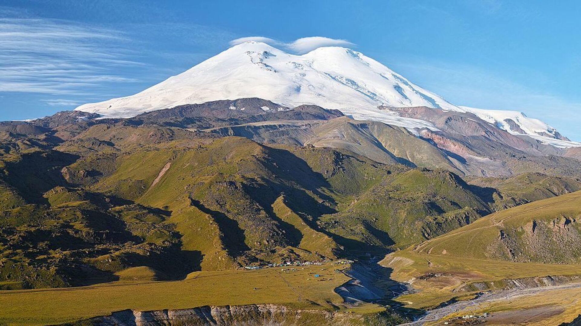 View of Elbrus  - Sputnik International, 1920, 23.09.2021