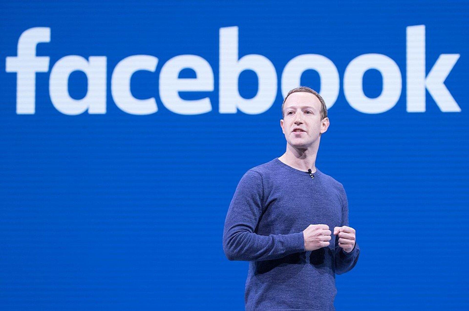 Mark Zuckerberg - Sputnik International, 1920, 22.09.2021