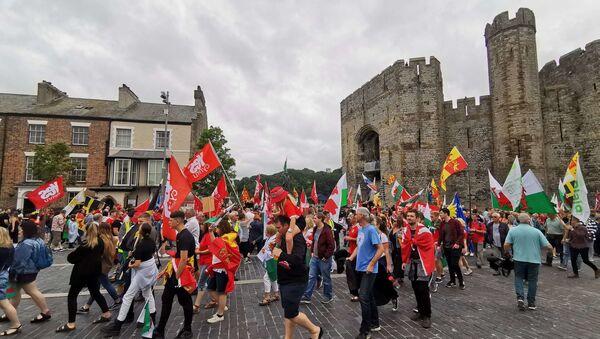 Rally for Independent Wales. Caernarfon, 27 July 2019 - Sputnik International