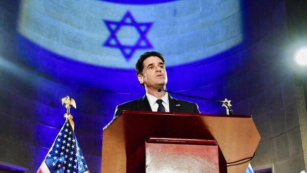 US Ambassador to Israel Ron Dermer delivers remarks at the Israeli Embassy's Independence Day Celebration - Sputnik International
