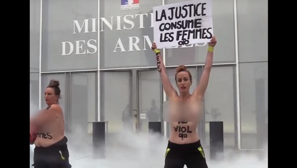 FEMEN protest - Sputnik International