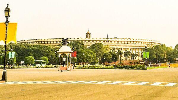 Indian Parliament - Sputnik International