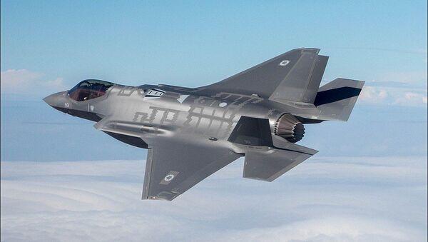 Israeli Air Force F-35 - Sputnik International