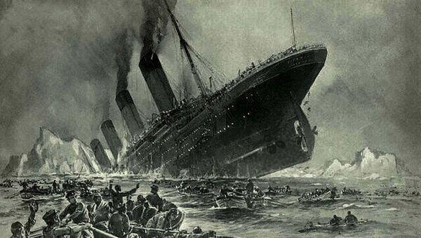 Titanic sinking - Sputnik International