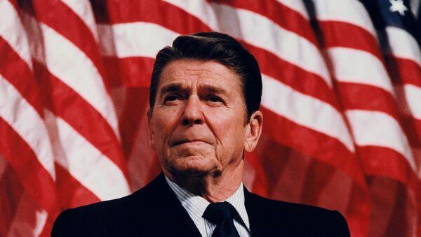 President Reagan speaking at a Rally for Senator Durenberger in Minneapolis, Minnesota - Sputnik International