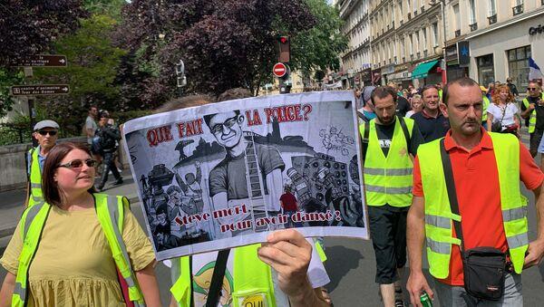 Yellow Vests protests in Paris - Sputnik International