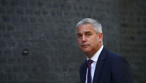 Britain's Secretary of State for Exiting the European Union Stephen Barclay is seen outside Downing Street in London - Sputnik International