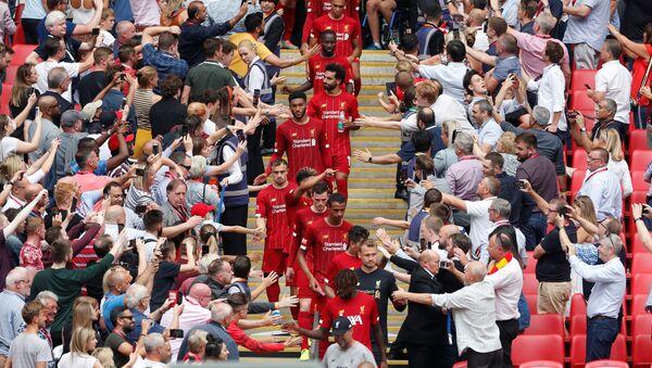 FA Community Shield - Manchester City v Liverpool - Wembley Stadium, London, Britain - August 4, 2019 - Sputnik International