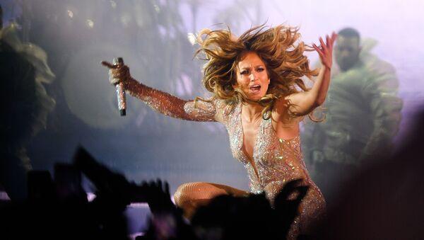 American singer Jennifer Lopez performs during her concert at VTB Arena Stadium in Moscow, Russia - Sputnik International