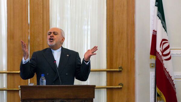 Iranian Foreign Minister Mohammad Javad Zarif speaks during a press conference in the capital Tehran, on August 5, 2019. - Sputnik International