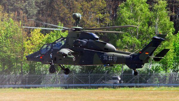 German Tiger helicopter - Sputnik International