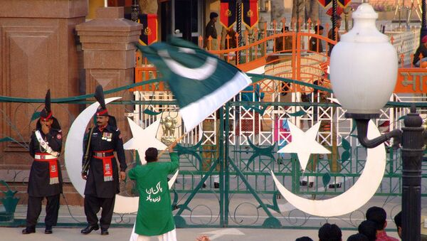 India-Pakistan Wagah Border - Sputnik International