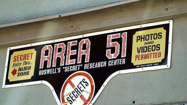 Area 51 sign, Roswell, NM - Sputnik International