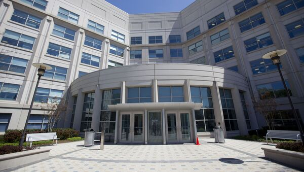 This April 24, 2015, photo shows the DNI's Liberty Crossing Intelligence Campus in McLean, Va. - Sputnik International