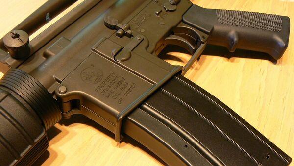 AR-15 Rifle - Sputnik International