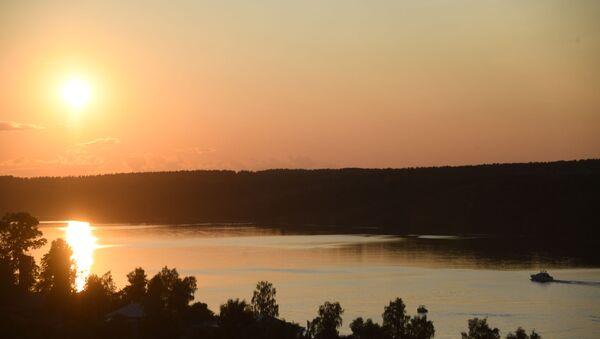 Volga River near the city of Ples, Ivanovo Region - Sputnik International