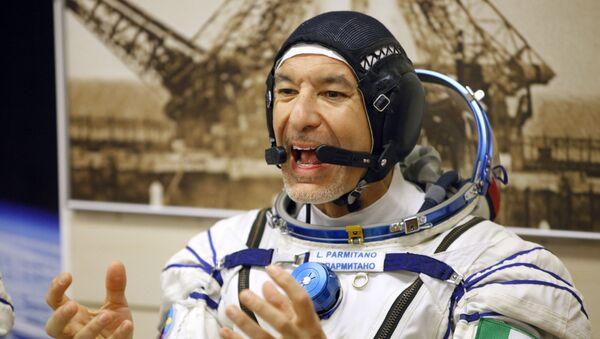 Italian astronaut Luca Parmitano - Sputnik International