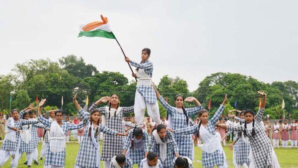 Rehearsal of the independence parade, Kashmir - Sputnik International