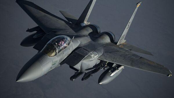 A U.S. F-15E Strike Eagle - Sputnik International