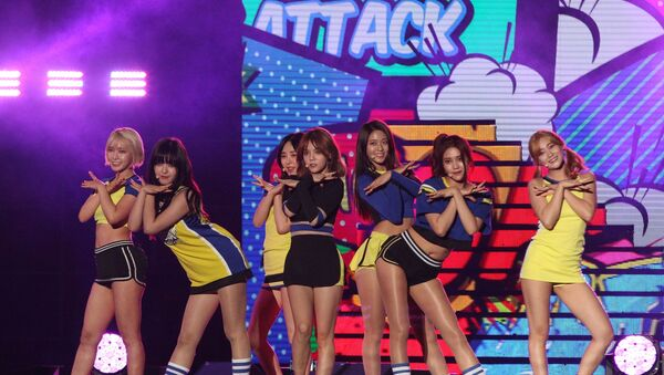 South Korean pop group AOA - Sputnik International