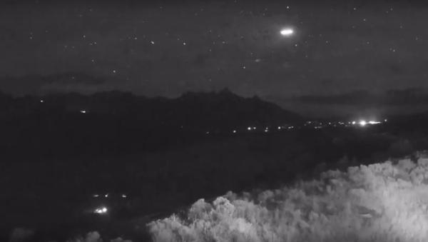 Strange light captured flying over Jackson Hole - Sputnik International