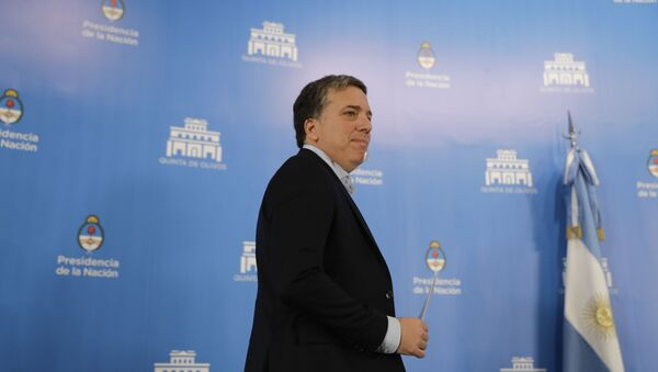 Argentina's Treasury Minister Nicolas Dujovne - Sputnik International