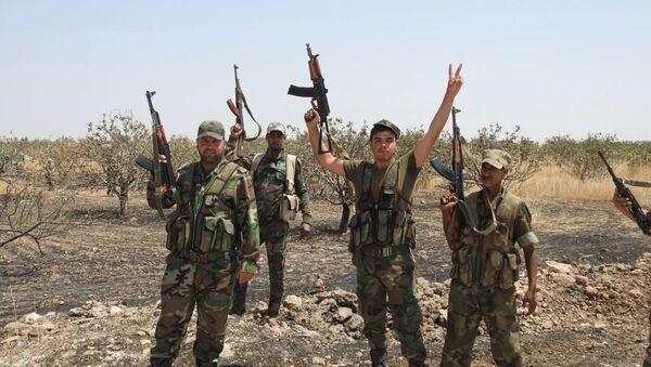 Syrian Army on the outskirts of Khan Sheikhoun - Sputnik International