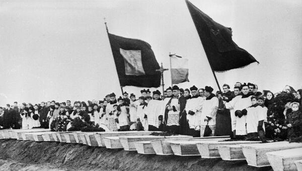 Немецкий концентрационный лагерь Освенцим  - Sputnik International