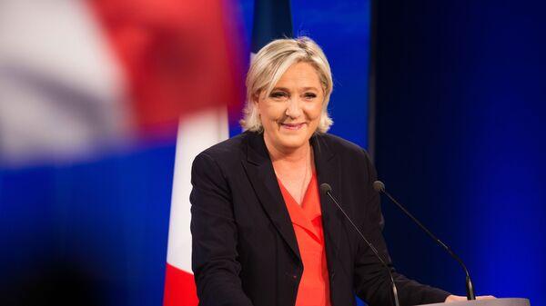 Marine Le Pen, file photo. - Sputnik International