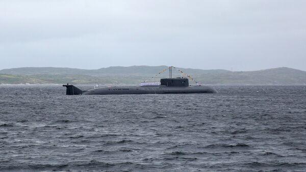 Yuriy Dolgorukiy Submarine - Sputnik International