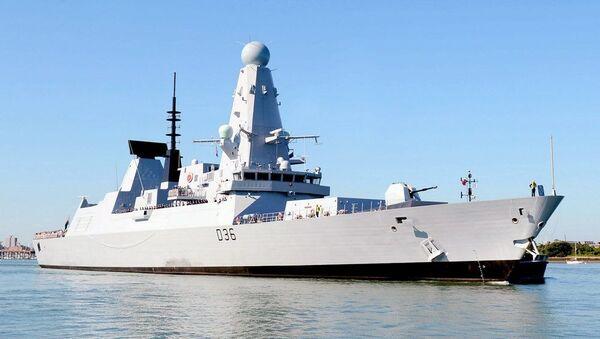 HMS Defender - Sputnik International