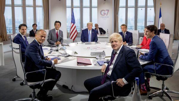 G-7 Working Session - Sputnik International