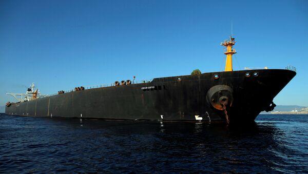 Iranian oil tanker Adrian Darya 1, previously named Grace 1 - Sputnik International