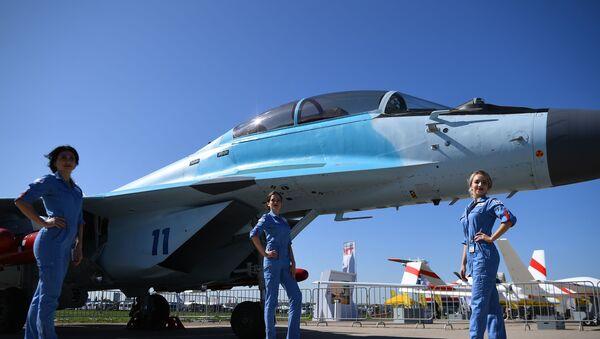 MiG-35 at MAKS-2019 International Air Show - Sputnik International