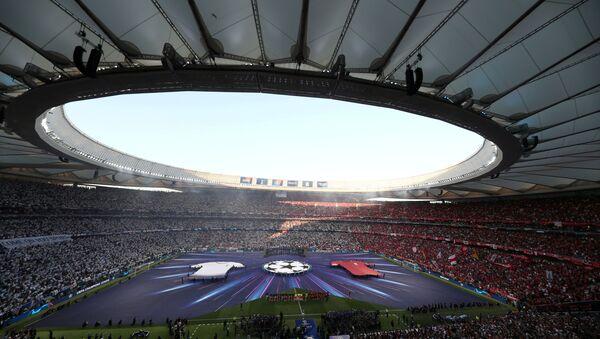 Soccer Football - Champions League Final - Tottenham Hotspur v Liverpool - Wanda Metropolitano, Madrid, Spain - June 1, 2019  General view before the match  - Sputnik International