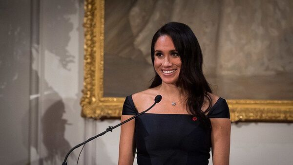 Official calls and evening reception for TRH The Duke and Duchess of Sussex - Sputnik International