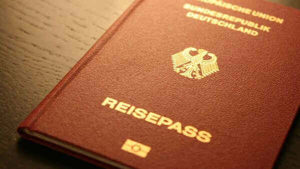 German passport - Sputnik International