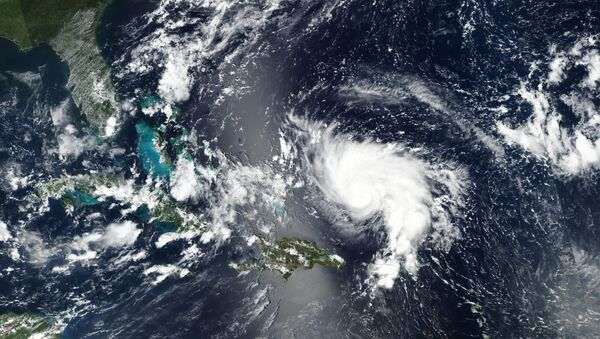 Hurricane Dorian approaches the coast of Florida - Sputnik International