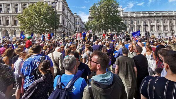 'Stop The Coup, Defend Democracy' protest in London - Sputnik International