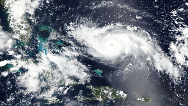 Hurricane Dorian approaches the coast of Florida, U.S. in this August 30, 2019 NASA handout satellite image. - Sputnik International